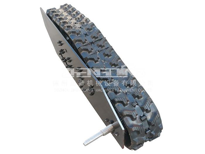 山东橡胶履带底盘 履带底盘定制 电动履带底盘厂家