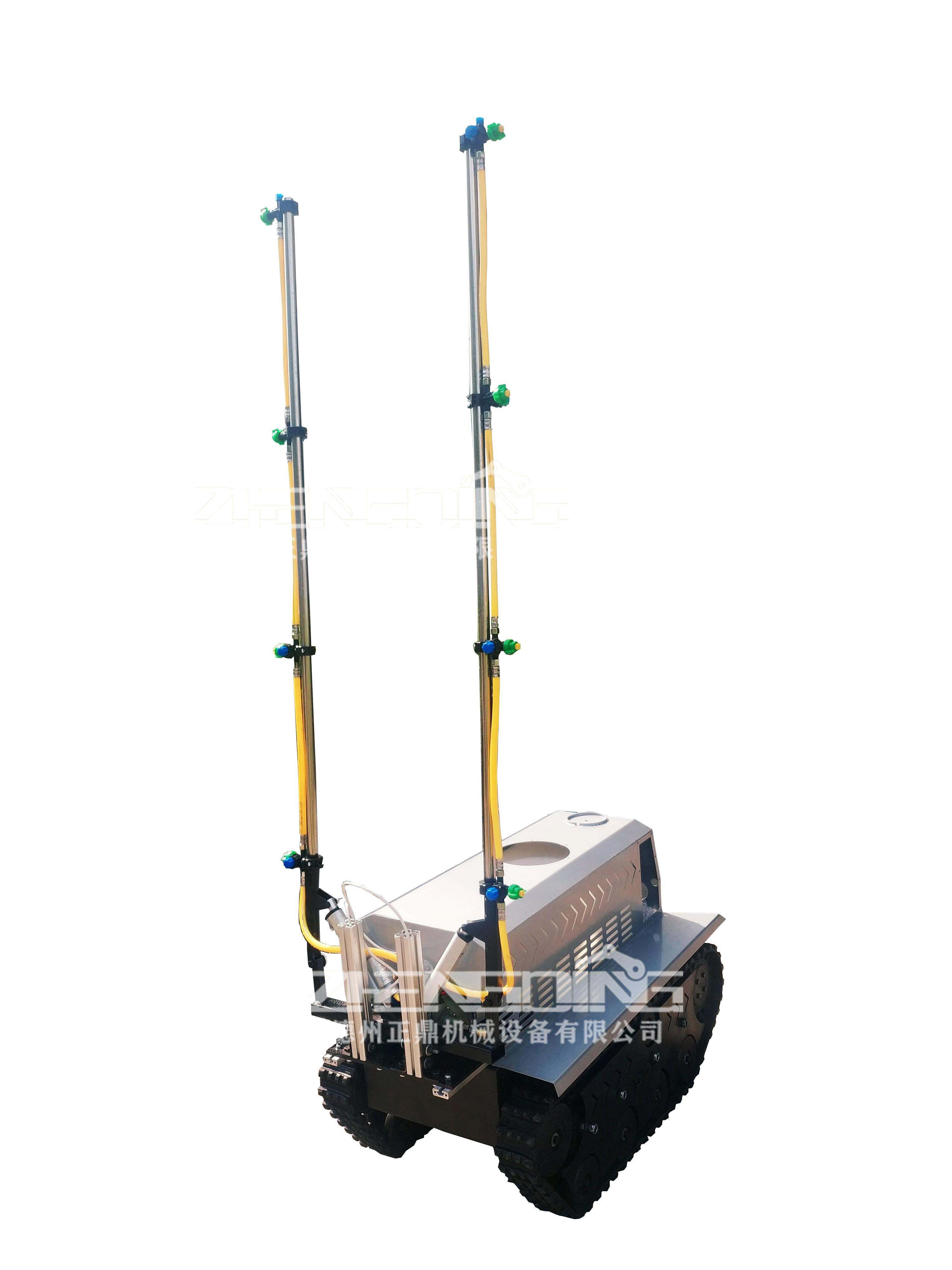 ZDDP-ZKZN-100橡胶履带底盘