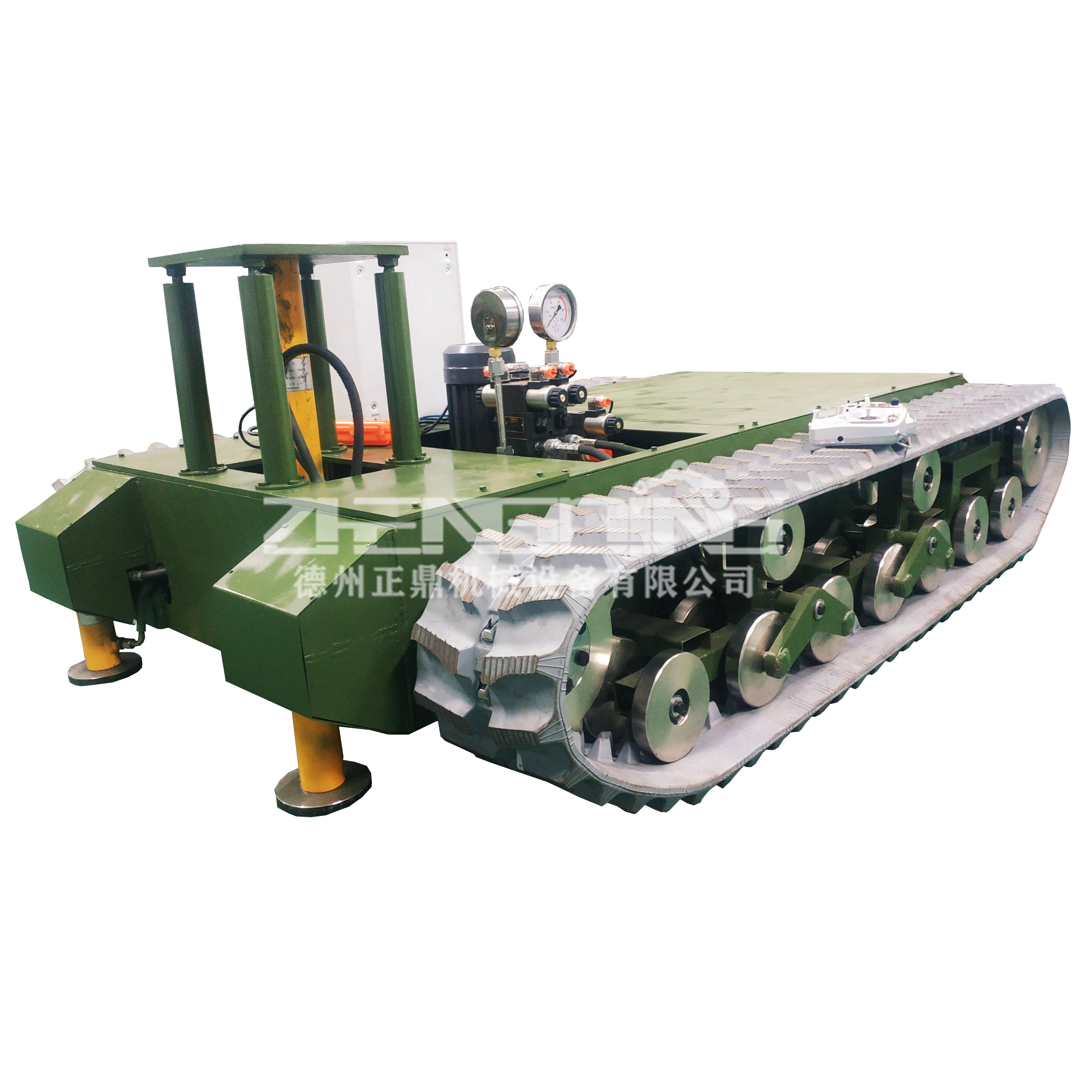 ZDDP-AHMG-250橡胶履带底盘