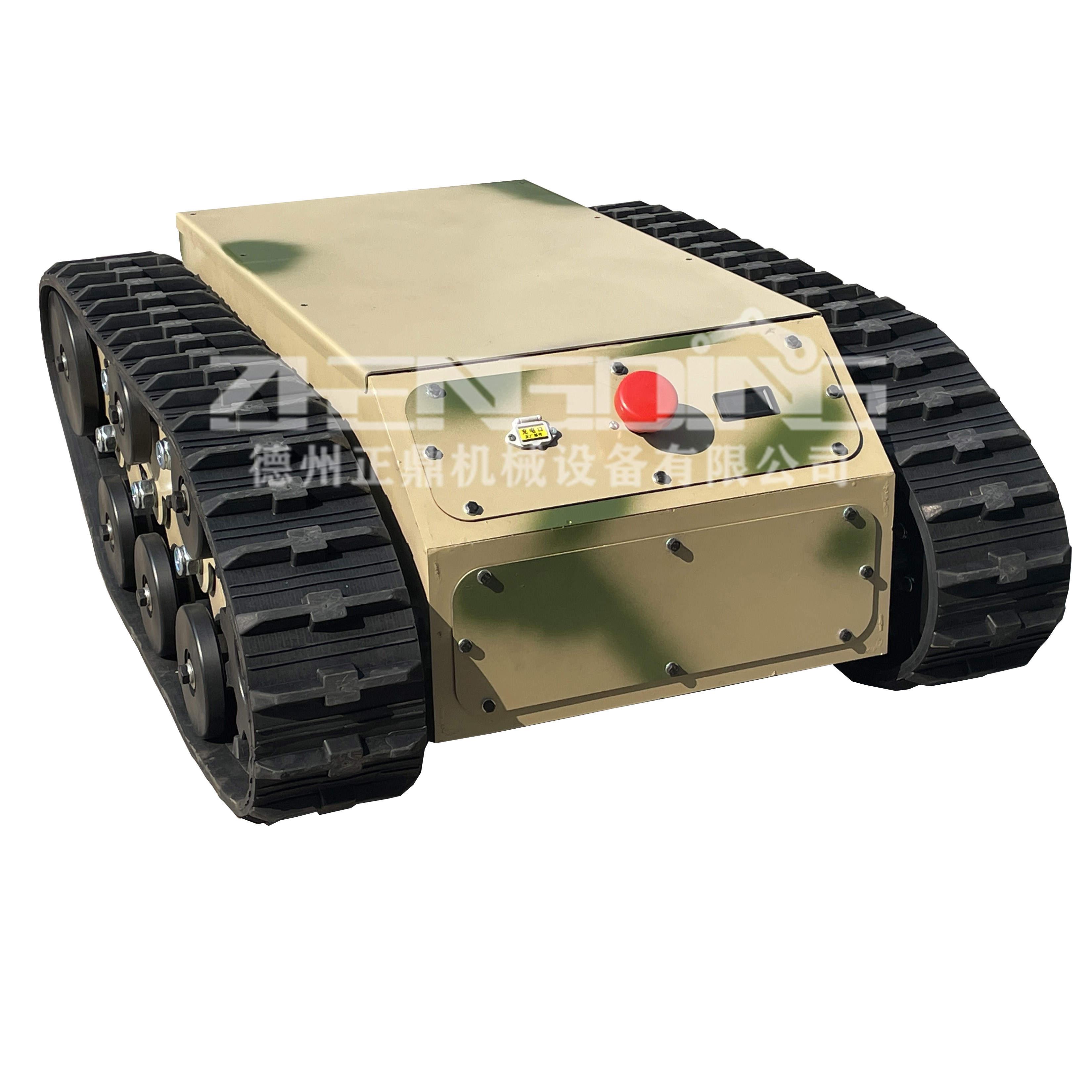 ZDDP-TLSY-150橡胶履带底盘