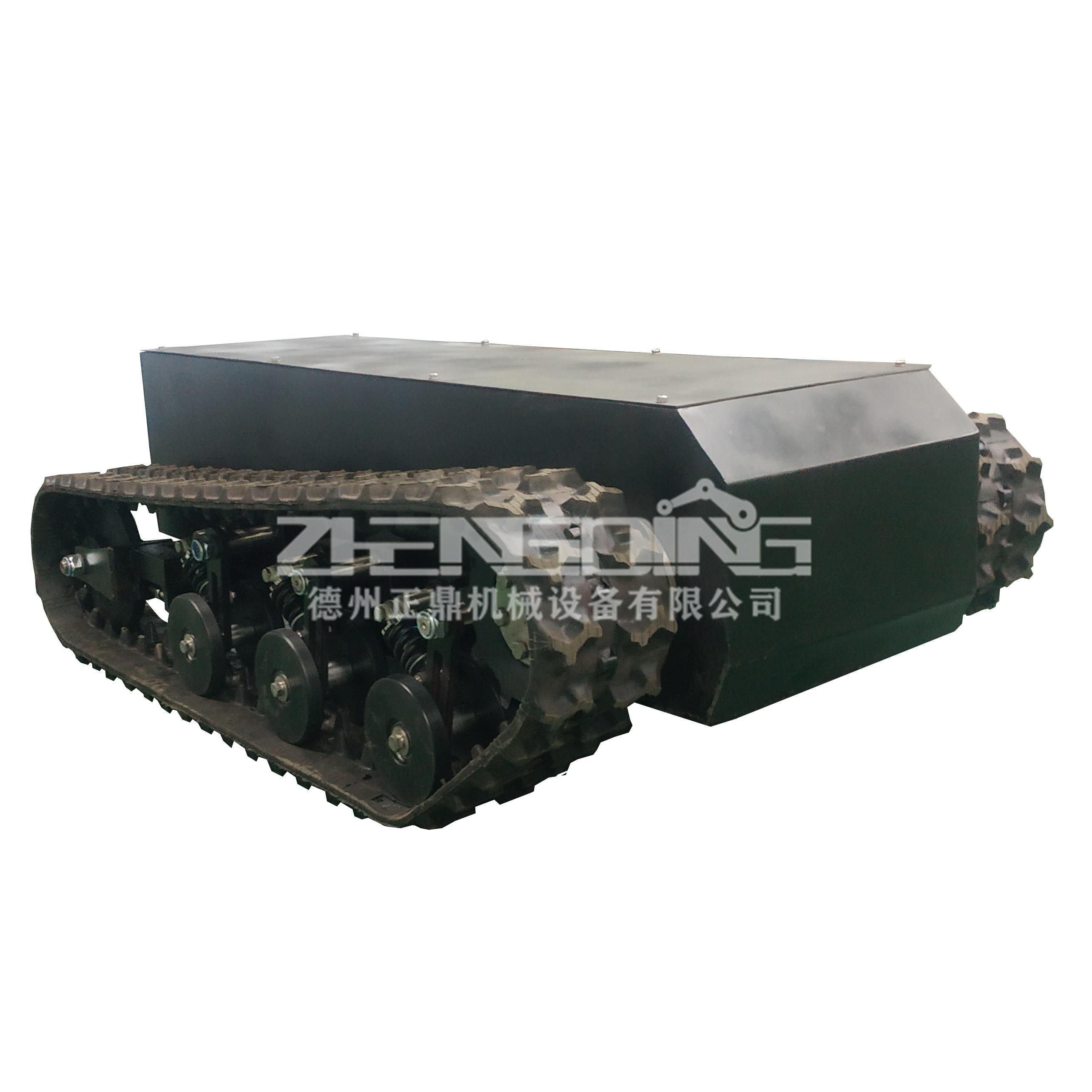ZDDP-ZZDF-150橡胶履带底盘