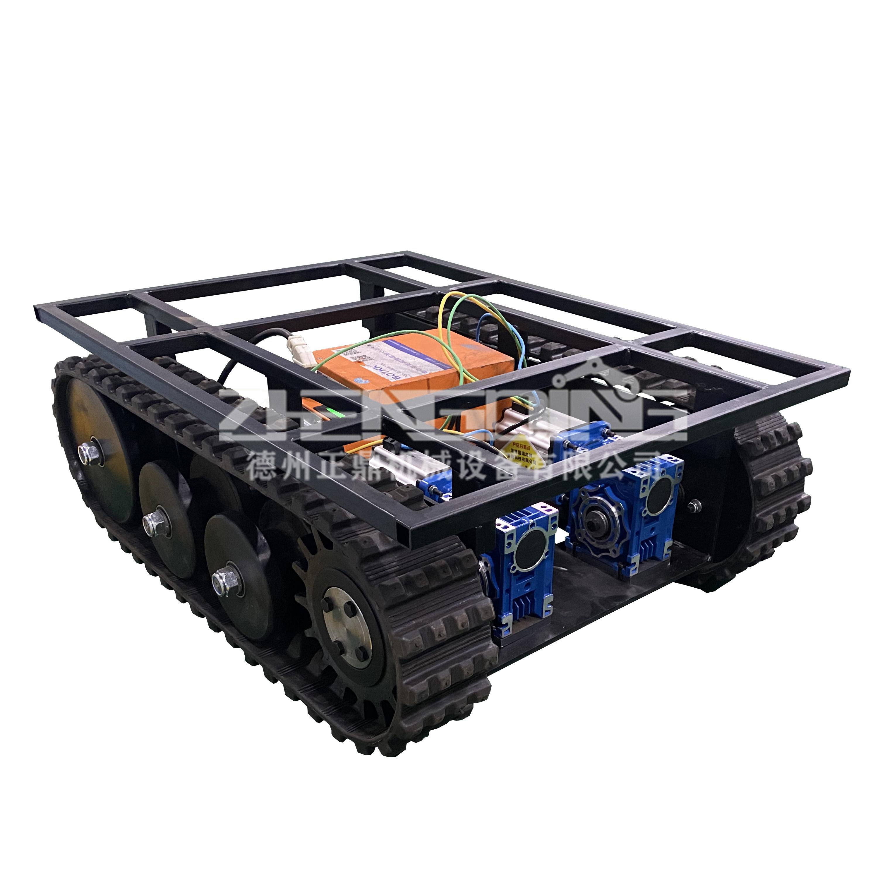 ZDDP-ZBDX-100橡胶履带底盘
