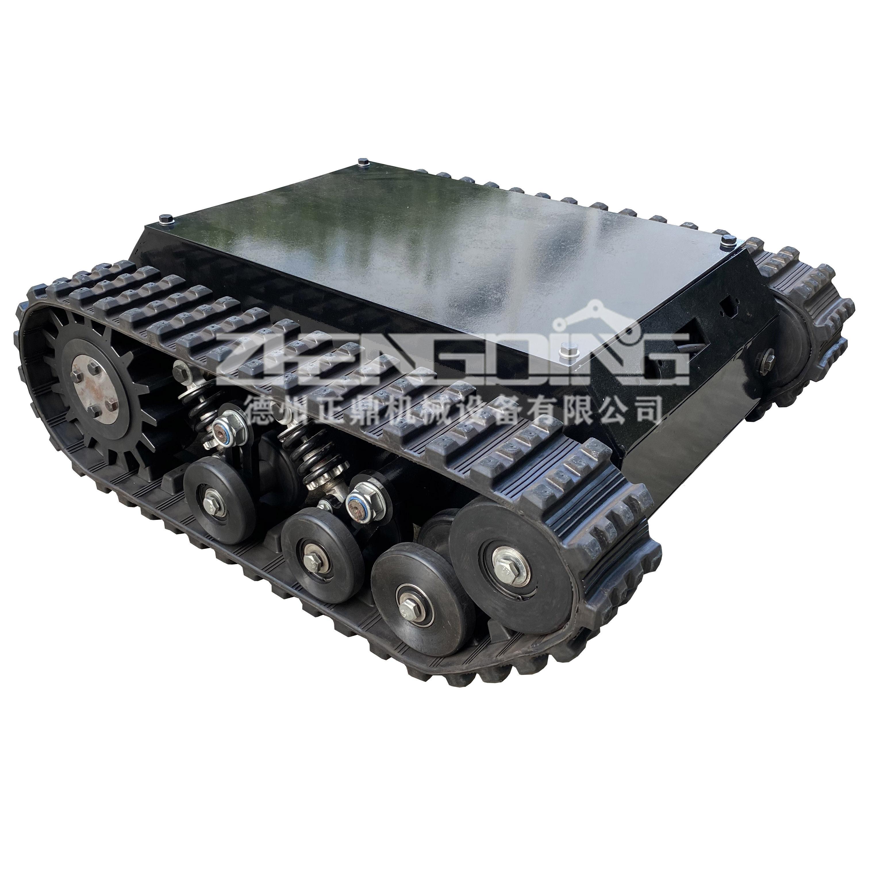 ZDDP-ZGNY-100橡胶履带底盘