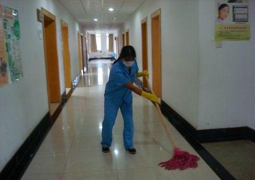 南阳医院保洁