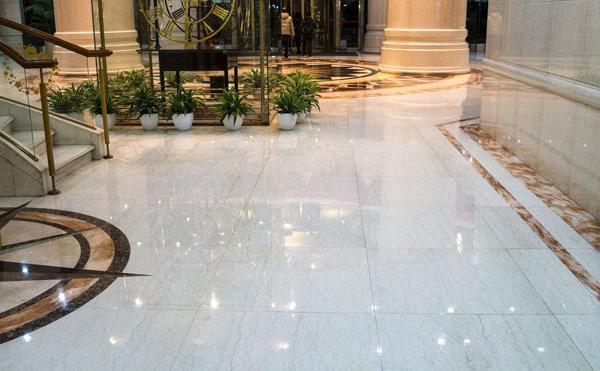 酒店石材地板