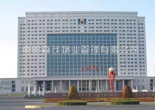 洛阳市政府综合大楼外墙清洗