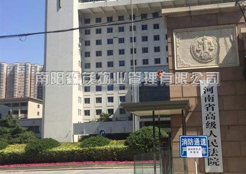 河南省高级人民法院水磨石翻新工程