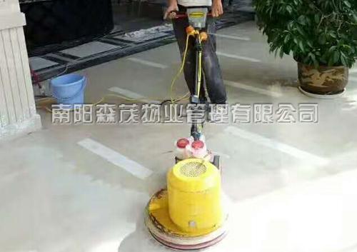 南阳大浪淘沙酒店石材翻新施工