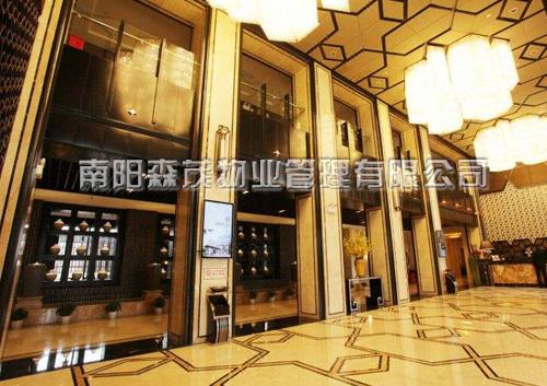 襄樊市四季兰亭假日酒店、室内外装饰工程