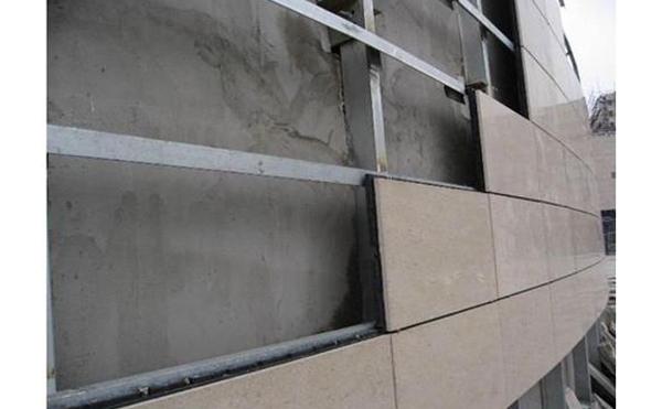 南阳干挂石材安装方式之扞接式方法