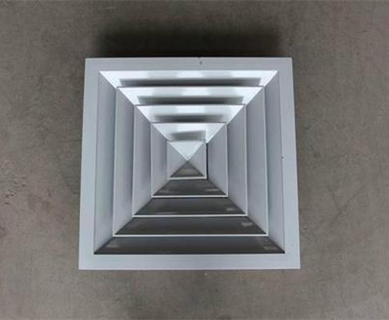 方形直片散流器