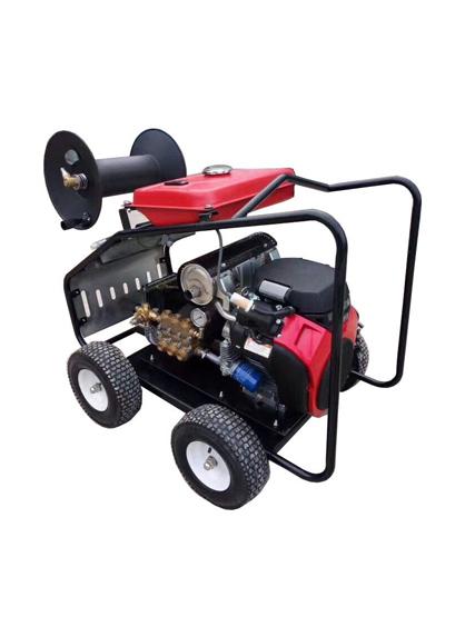 500型 汽油高压管道疏通机
