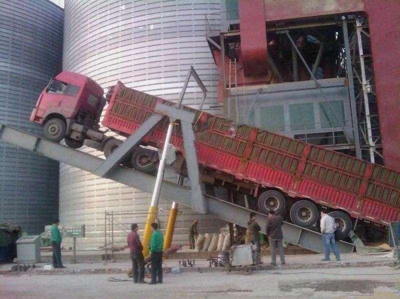 卸车液压翻板