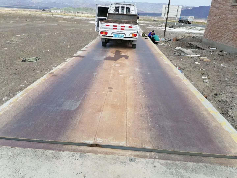 新疆|奎屯200吨地磅维修调试完毕