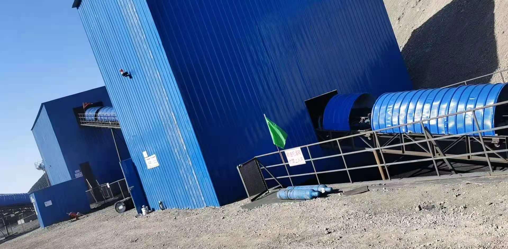新疆|阿勒泰120米皮帶秤安裝調試完畢,感謝您的信任!