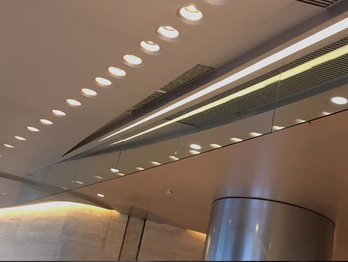 固定式玻璃挡烟垂壁