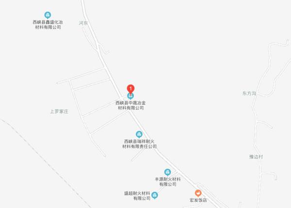西峡县中晟冶金材料有限公司地址