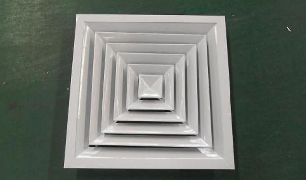 铝合金风口的质量除了取决于采用板材的质量。