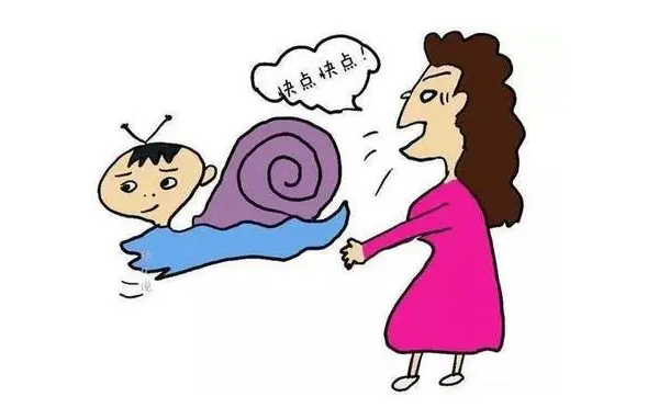 孩子是个慢性子,父母别担心!