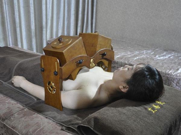 胸部调理艾灸箱