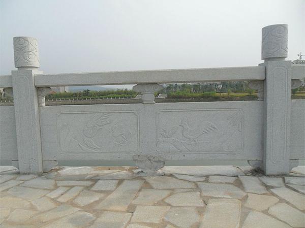 花岗岩石雕栏杆