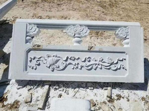 浮雕石雕栏杆栏板