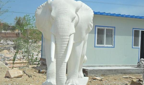 河南石雕大象价格