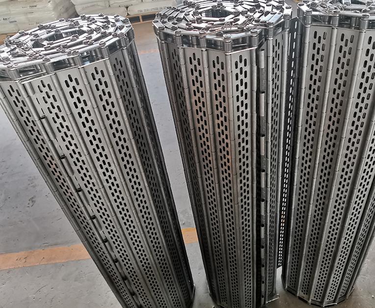不锈钢长孔链板定制