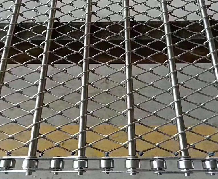 链条式菱形网带