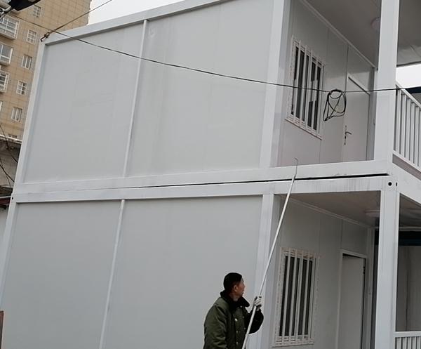 南阳众联双层集装箱房安装