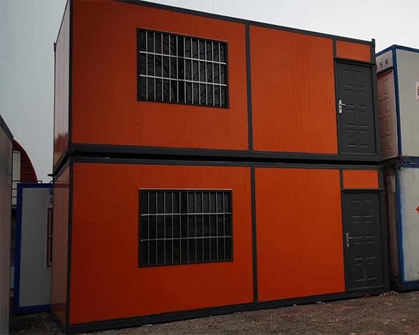 两层集装箱房