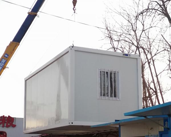 住人集装箱房安装—众联钢结构