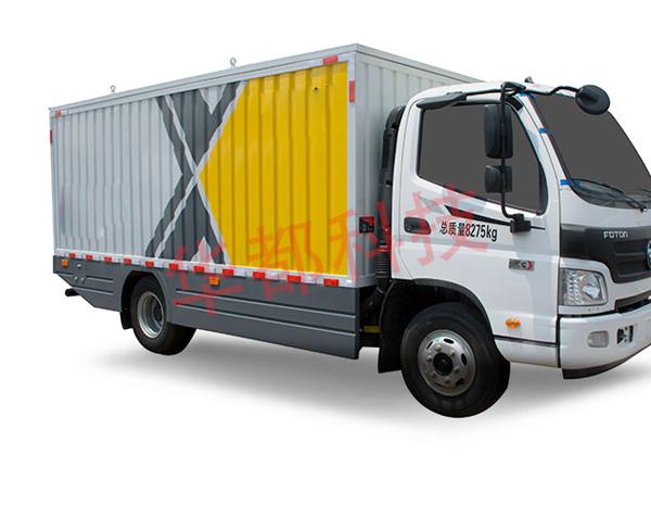 密闭式桶装垃圾车