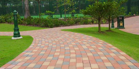 关于陶瓷透水砖路面环保性的探求分享!