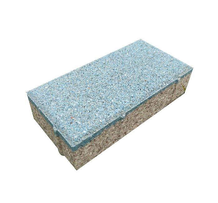 蓝色陶瓷透水砖