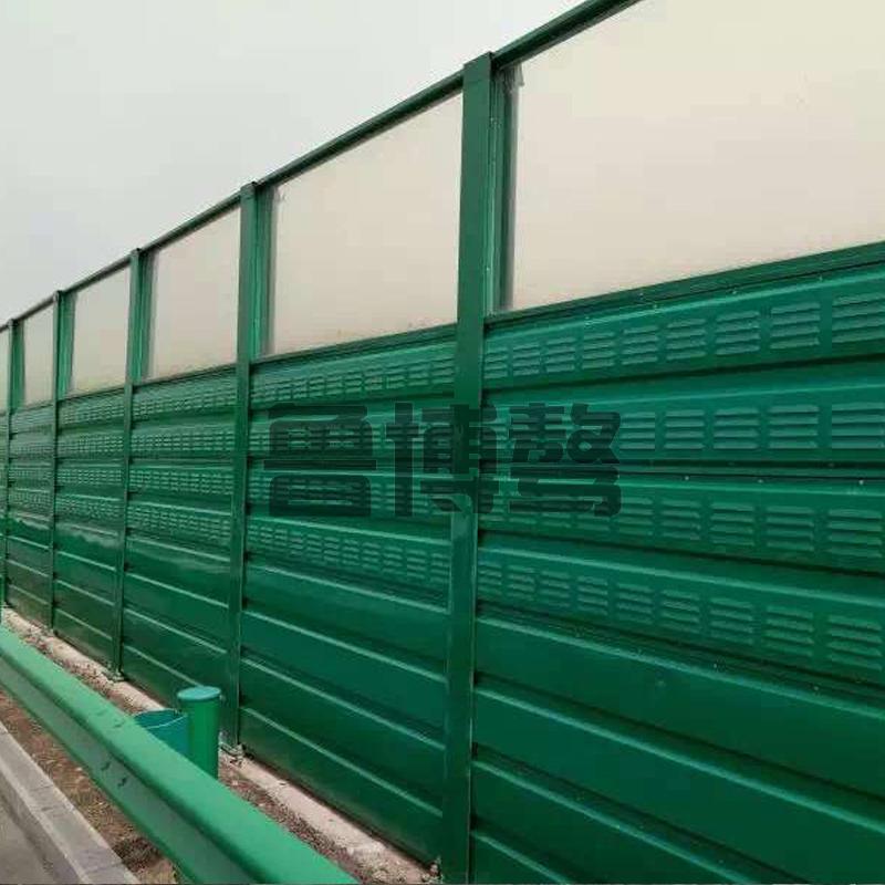 组合透明型隔声屏障挡风墙的材质