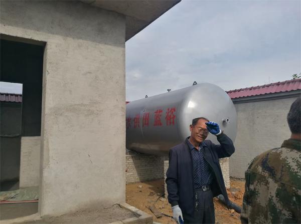 无塔压力罐定制案例-农村饮用水