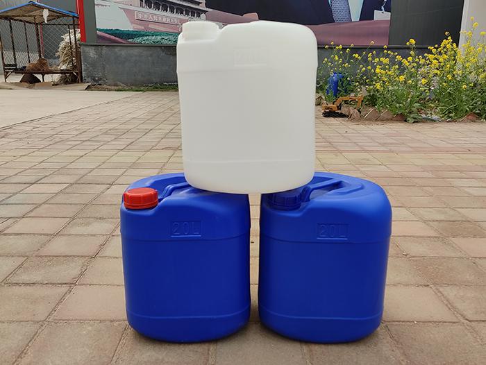 20升蓝色塑料桶