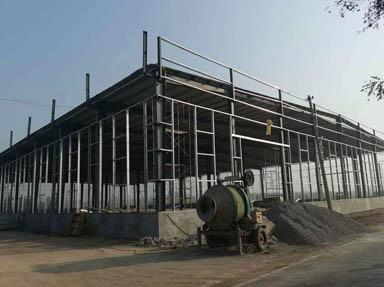 轻钢钢构厂房