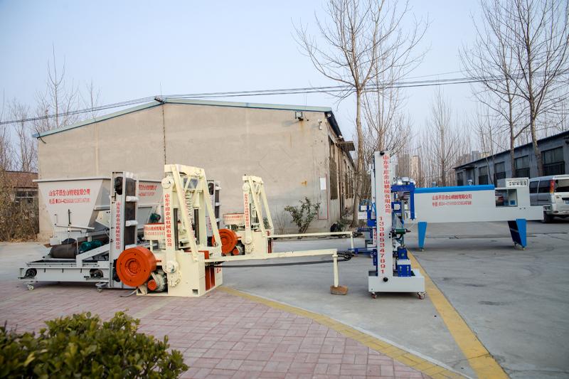 蜂窝煤机生产线