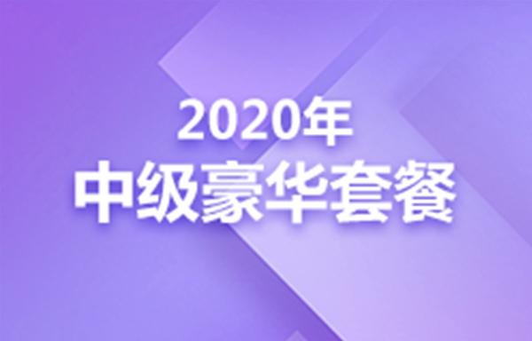 2020年中级豪华套餐