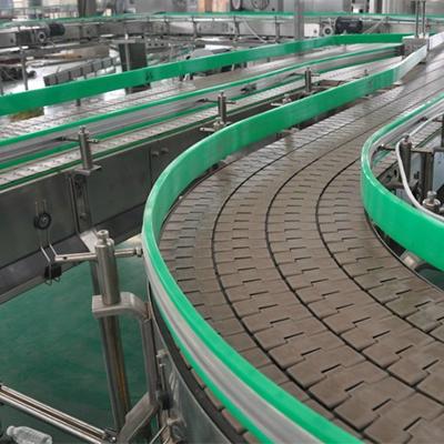 塑料连板输送机的广泛用途。