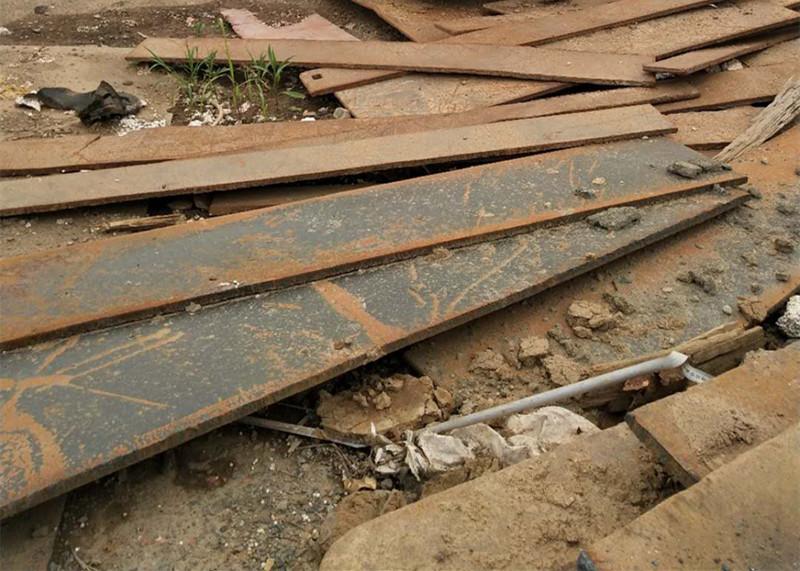 建筑施工铺路钢板租赁时好坏如何分别