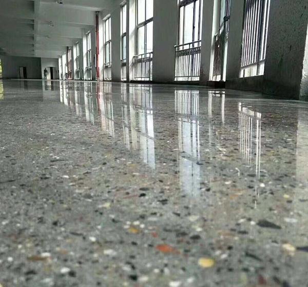水磨石固化地坪