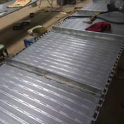 不銹鋼鏈板輸送帶