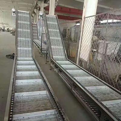 不锈钢链板重型输送机