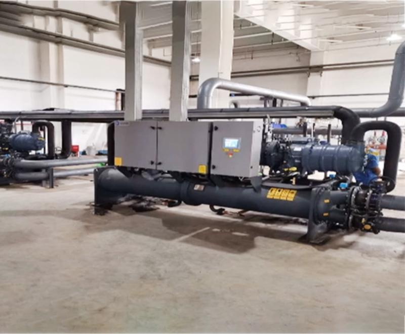 水(地)源熱泵機組安裝案例