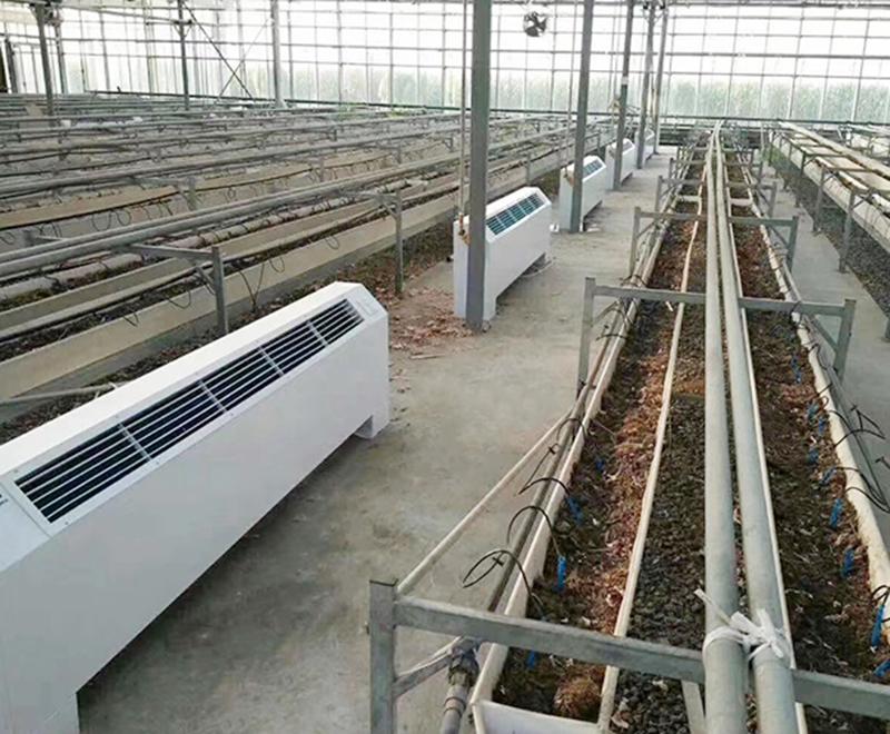 立式明裝風機盤管養殖場安裝