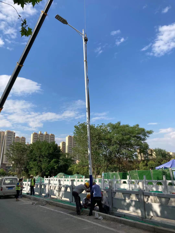 鄠邑区市政工程安装10米市电路灯