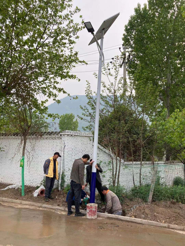 长安县6米太阳能路灯